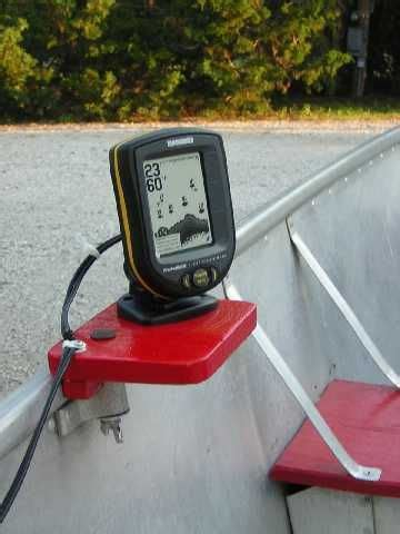 Jon Boat Depth Finder Mounts by Best Boat Depth Finder Deanlevin Info