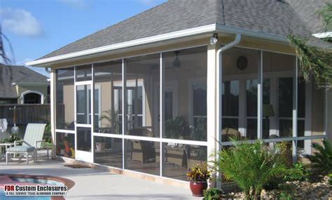 patio enclosures screened rooms fdr custom enclosures