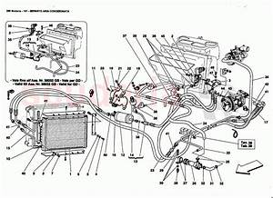 Ferrari 360 Modena Air Conditioning System Parts