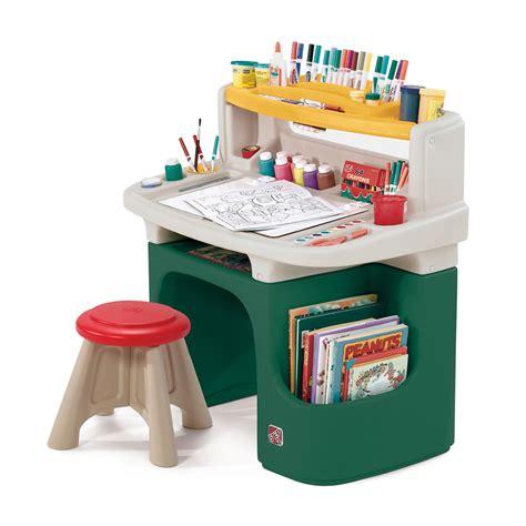 step 2 desk and stool art master activity desk kids art desk step2