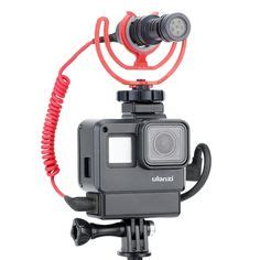 gopro vlogging case connect microphone