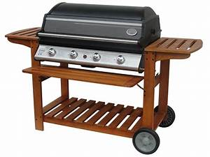 Barbecue Gaz Avec Plancha Et Grill : barbecue gaz chicago 4 br leurs 16 4 kw plancha ~ Melissatoandfro.com Idées de Décoration