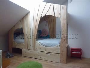 Tete De Lit Cabane : lit cabane bois massif enfant sequoia abra ma cabane ~ Melissatoandfro.com Idées de Décoration