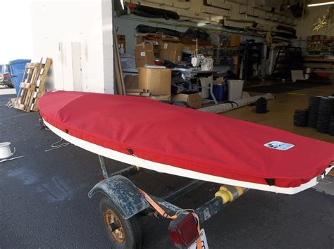 Sunfish Boat Cover by Sunfish Sailboat Top Cover Boat Deck Cover Slo Sail