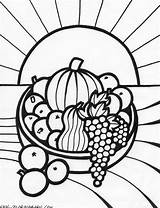 Coloring Pages Fruit Bowl Fruits Basket Adults Popular sketch template