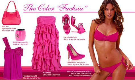 the color fuschia the color fuchsia fashion trendsetter