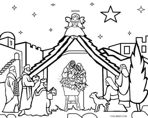 Nativity Coloring Pages - Democraciaejustica