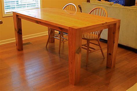 Modern Heart Pine Kitchen Table   by RobJones