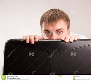Scared Man Stock Photo - Image: 35388350