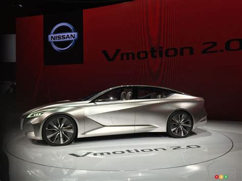 Future Nissan Sedans Previewed By Vmotion 20 Concept