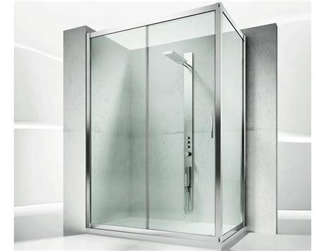 porte in cristallo per doccia box doccia angolare su misura in cristallo con porte