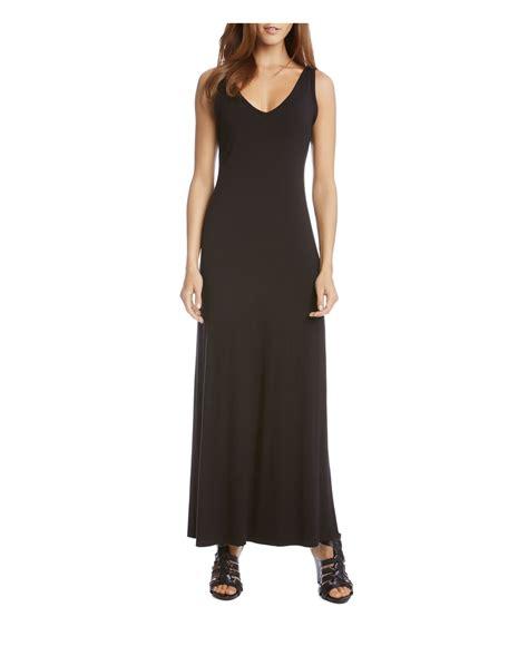 alena maxi dress alana v neck maxi dress in black lyst