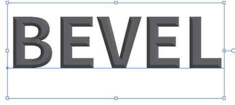 How To Create The Bevel & Emboss Effects For Editable Text