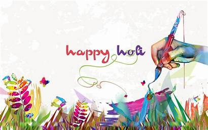 Holi Happy Creative Greeting Wallpapers Cards Festival