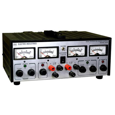 Dual Output Laboratory Bench Power Supply