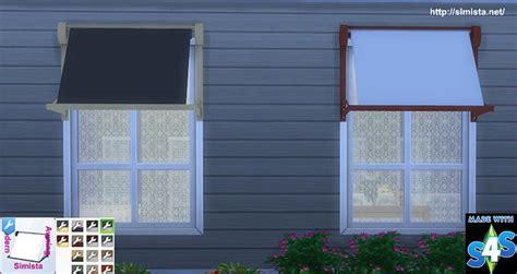 modern window awning  simista  sims  updates check   httpsimsupdatesnetobjects