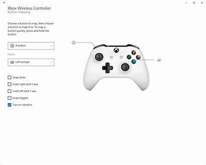 Xbox Buttons Remap Accessories Regular Psa Windows