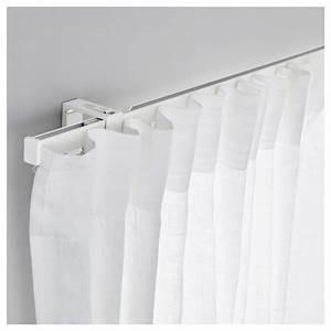Tringles à Rideaux : tringles a rideaux et rails inspirations et voilage blanc ~ Edinachiropracticcenter.com Idées de Décoration
