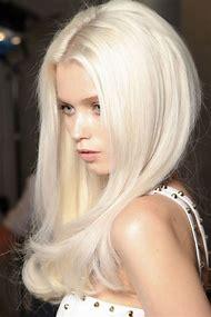 Platinum White Blonde Hair Color
