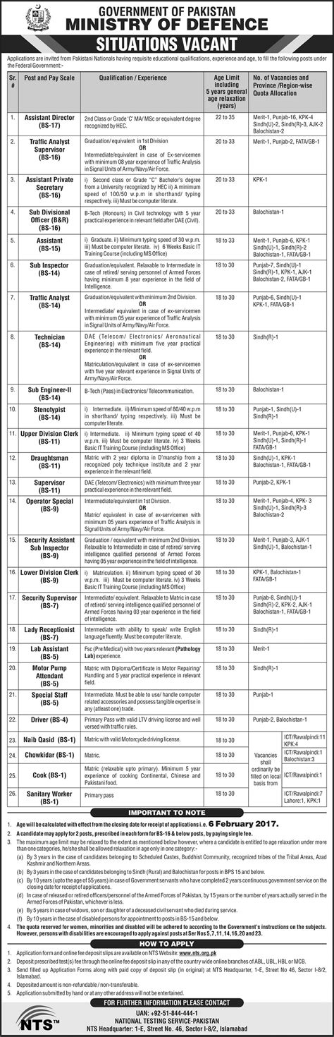 application form of ministry of defence ministry of defence 2018 nts application form eligibility criteria last date