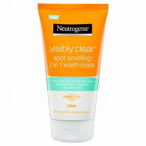 Neutrogena Visibly Clear Waschgel : visibly clear spot proofing 2 in 1 wash mask neutrogena australia ~ Avissmed.com Haus und Dekorationen