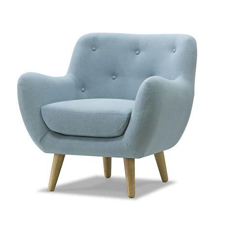 fauteuil de bureau alinea fauteuil esprit seventies bleu ciel poppy meuble