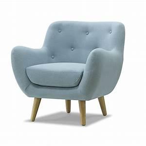 Fauteuil Bleu Scandinave : fauteuil esprit scandinave bleu poppy meuble d coration int rieur alin a ~ Teatrodelosmanantiales.com Idées de Décoration