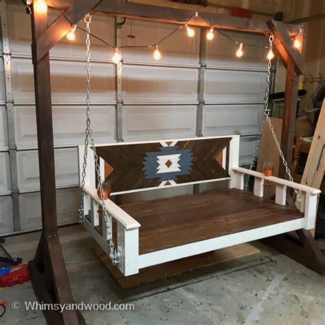 daybed porch swing bench diy tutorial whimsy  wood