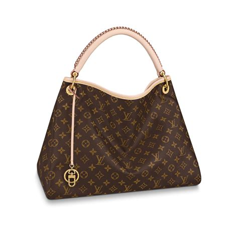 artsy mm monogram  brown handbags  louis vuitton