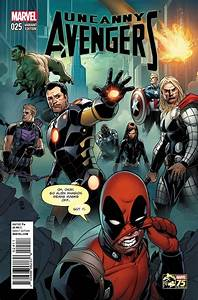 Uncanny Avengers #25 Deadpool Variant Cover Recreates ...