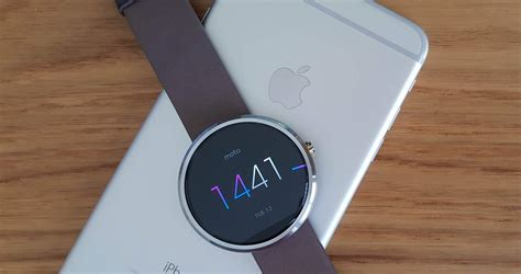 moto 360 for iphone cult of android how to connect a moto 360 to your iphone