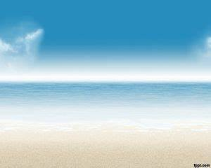 private beach ppt With beach themed powerpoint templates