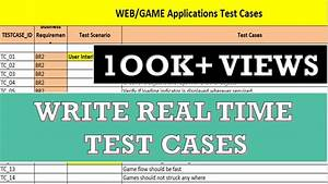 Writing Manual Test Cases