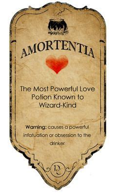 love potion label google search harry potter potion