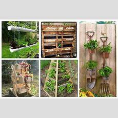 10 Diy Ideen Für Einen Vertikalen Garten! Nettetippsde