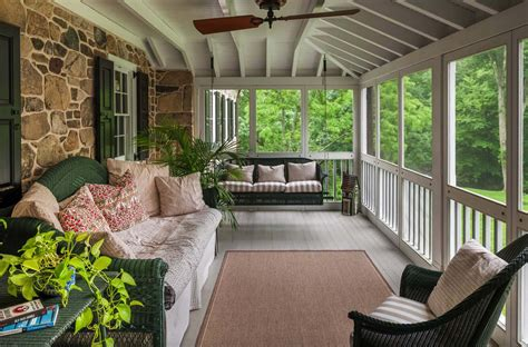 screening in a porch 38 amazingly cozy and relaxing screened porch design ideas