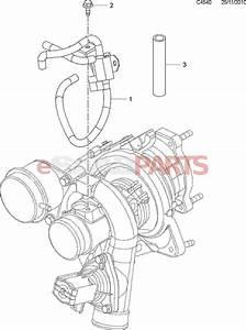 55558983  Saab Kit  Boost Pressure Control Valve