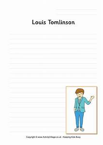 Louis Tomlinson Writing Page