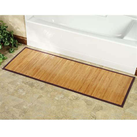 Bamboo Kitchen Floor Mat  Gurus Floor