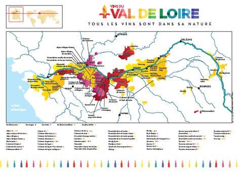 Carte De Des Vins Pdf by La Carte Des Vins Du Val De Loire Vins Du Val De Loire