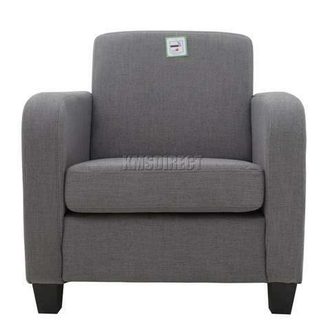 foxhunter tub chair armchair linen fabric dining living