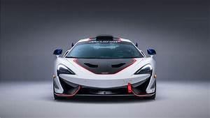 2018 McLaren MSO X White Red 5K Wallpaper HD Car