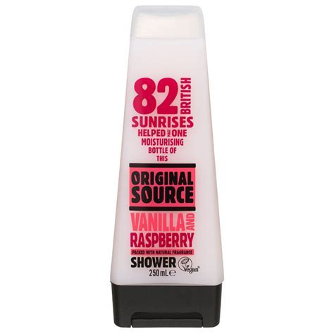 Original Source Shower Gel Vanilla & Raspberry 250ml