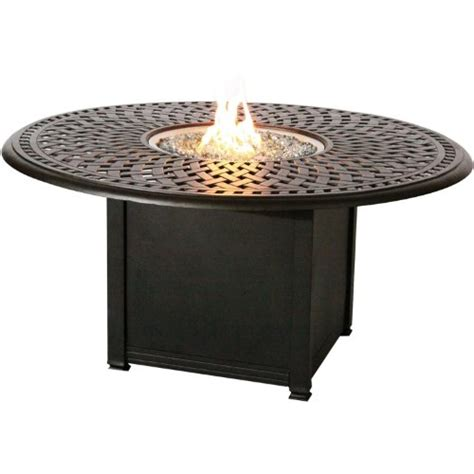 fire pit bar table lazy susan for patio table darlee patio counter height