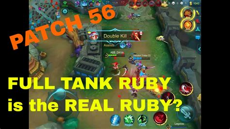 Fixed Ruby-the New Best Tank? Mobile Legends Ruby 4/0/14
