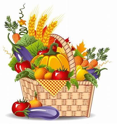 Basket Clipart Fruit Veggie Vegetable Cliparts Clip