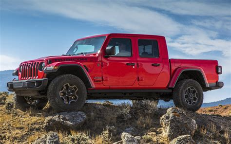 2020 jeep gladiator rubicon wallpapers and hd images car pixel