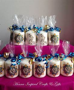 Set of 50 candles, Made to order, Indian favors, Return ...
