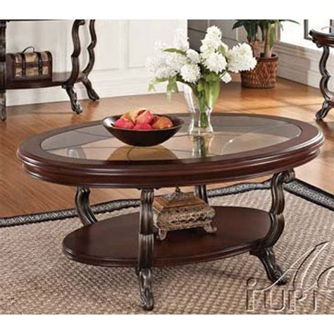 You can find cherry wood coffee table with glass top guide and read the latest cherry. Oval Glass Top Coffee Table - Bravo | Glass wood coffee table, Glass top coffee table, Oval ...