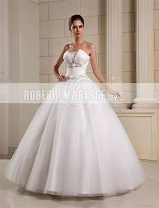robe de mariee princesse bustier http wwwrobedumariage With robe tulle femme pas cher